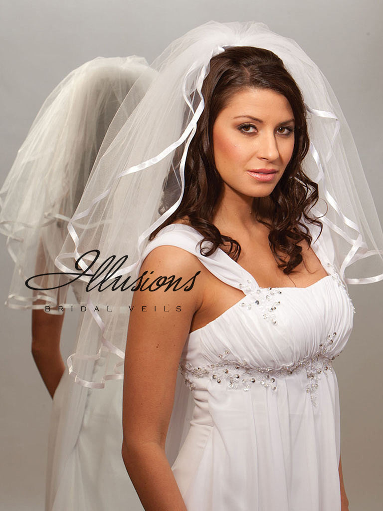 Illusion Bridal Elbow Length S1-252-3R