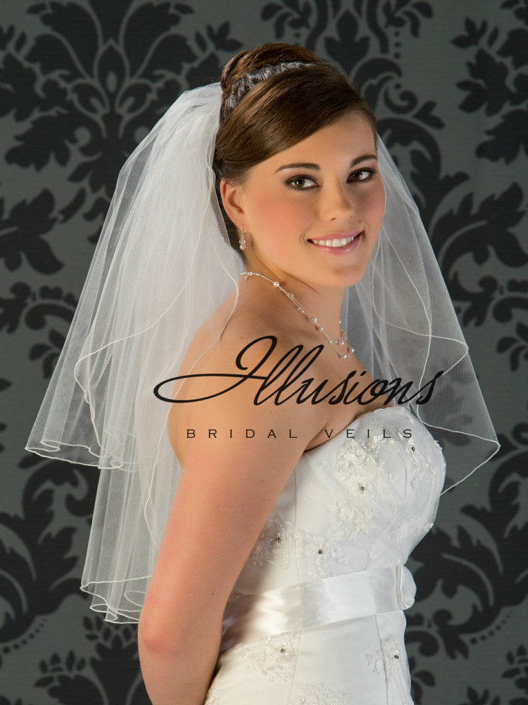 Illusion Bridal Elbow Length S1-252-C