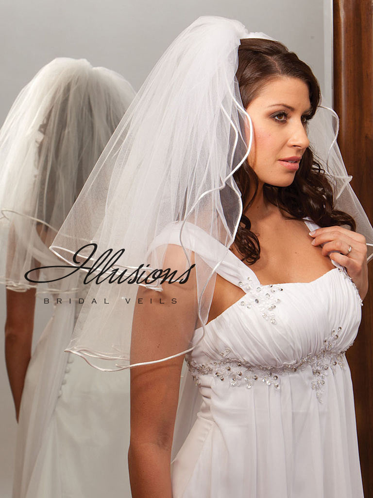 Illusion Bridal Elbow Length S1-252-RT