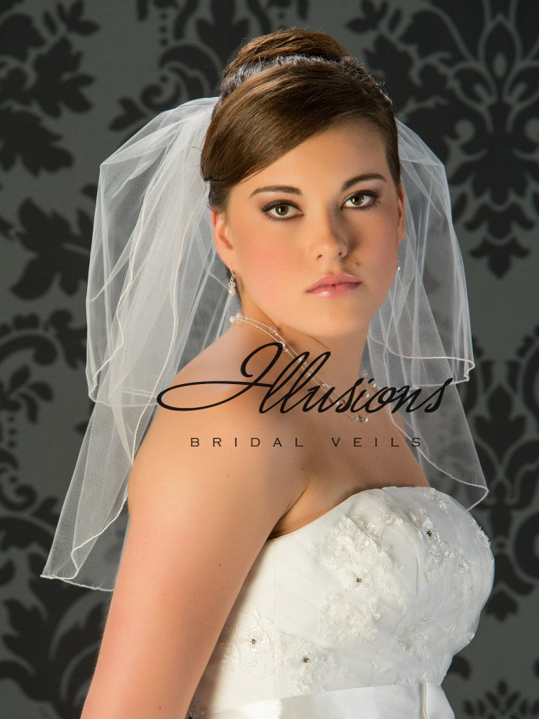Illusion Bridal Shoulder Length  S5-202-C