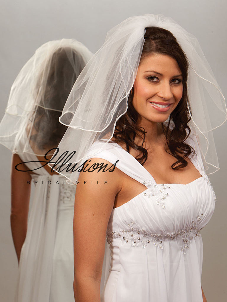 Illusion Bridal Shoulder Length S5-202-P