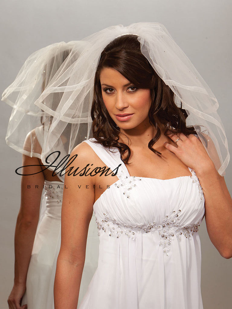 Illusion Bridal Shoulder Length S5-202-SR-RS