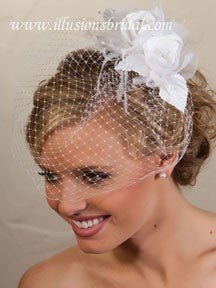 Illusion Bridal Visor Length Veil VS-7021