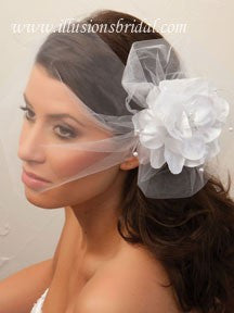Illusion Bridal Visor Length Veil VS-7027
