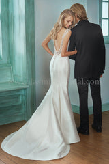 In Stock Off Rack Jasmine F201004 size 10 ivory