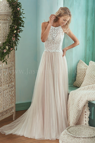In Stock Off Rack Jasmine F201006 size 12 (blush)