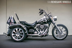 "Lincoln Chrome 18 x 7"" Trike"