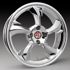 "Rocklin 18x7"" One Piece Trike Wheel"