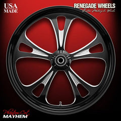 "Mayhem 21"" Only Phantom-Cut Wheel"