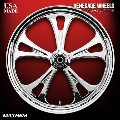 Mayhem Chrome Wheels