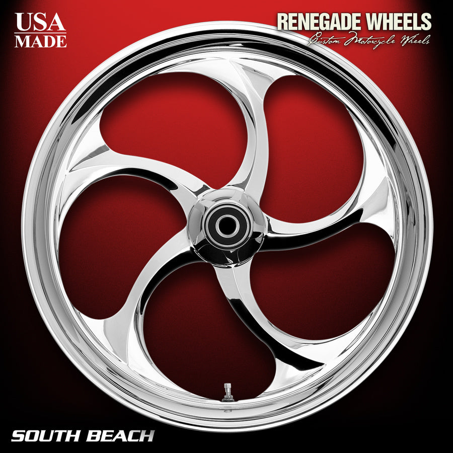 South Beach Chrome Wheels