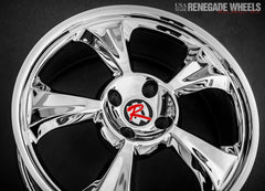 "Tahoe Chrome 18 x 7"" Trike Wheel"