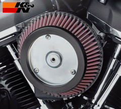 Screamin' Eagle High-Flow - Round with any Renegade Style Cover Kit - Air Cleaner