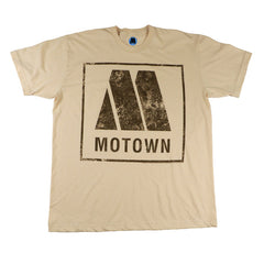 Motown Logo Men's T-Shirt - Tan