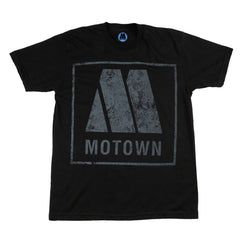 Motown Logo Men's T-Shirt - Black