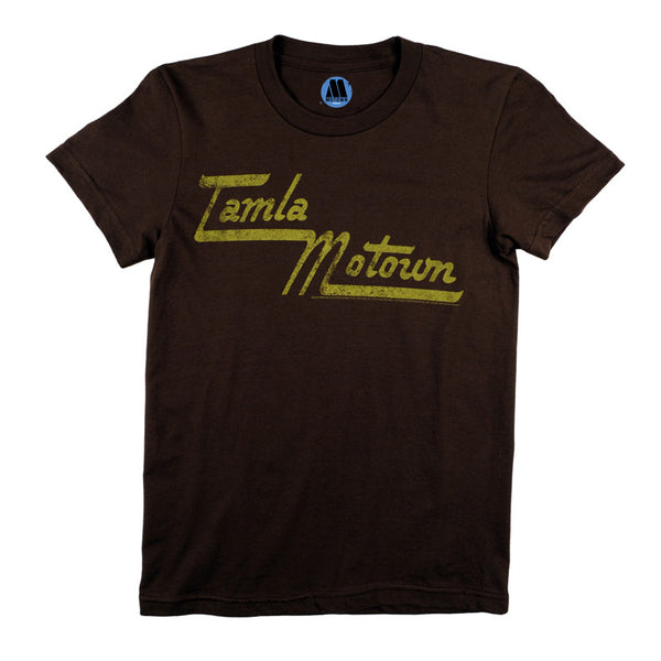 Tamla Motown Logo Women's T-Shirt - Brown