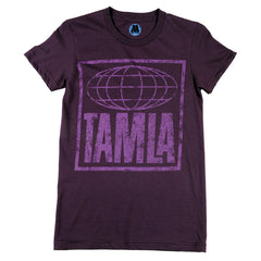 Tamla Logo Women's T-Shirt - Purple