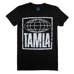 Tamla Logo Men's T-Shirt - Black