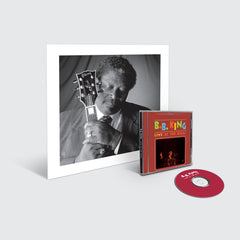 B.B. King - Live At The Regal CD + Lithograph Image