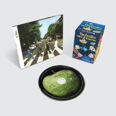 The Beatles - Abbey Road + Blind Box Figure - CD Set