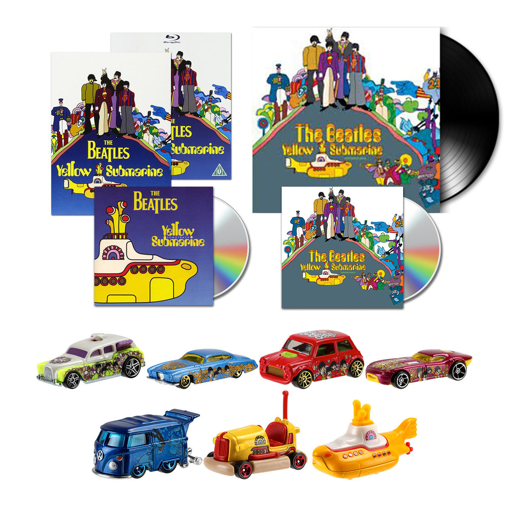 yellow submarine the ultimate music + hot wheels bundle