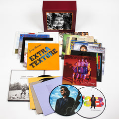 George Harrison The Complete Collection 14 Vinyl LP Box Set + Exclusive Enamel Pin Set