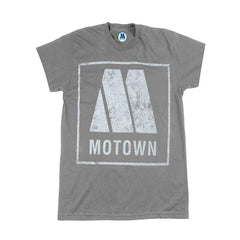 Motown Logo Women's T-Shirt - Grey