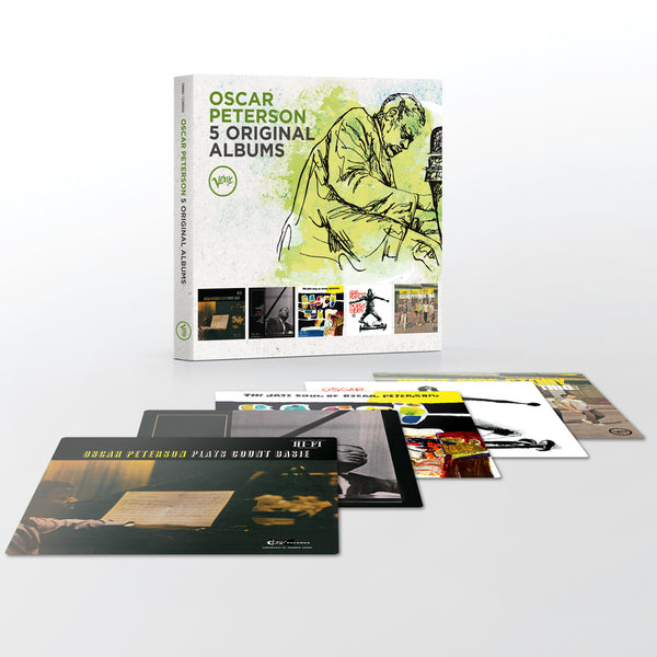 Oscar Peterson 5 in 1 Box Set