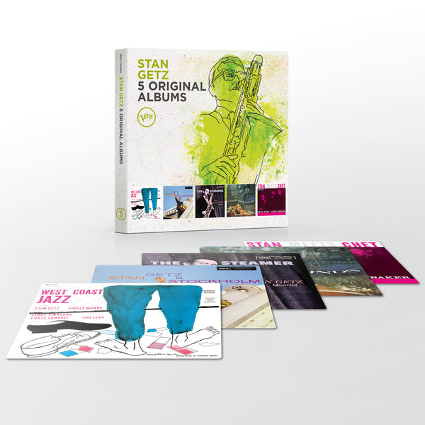 Stan Getz 5 in 1 Box Set