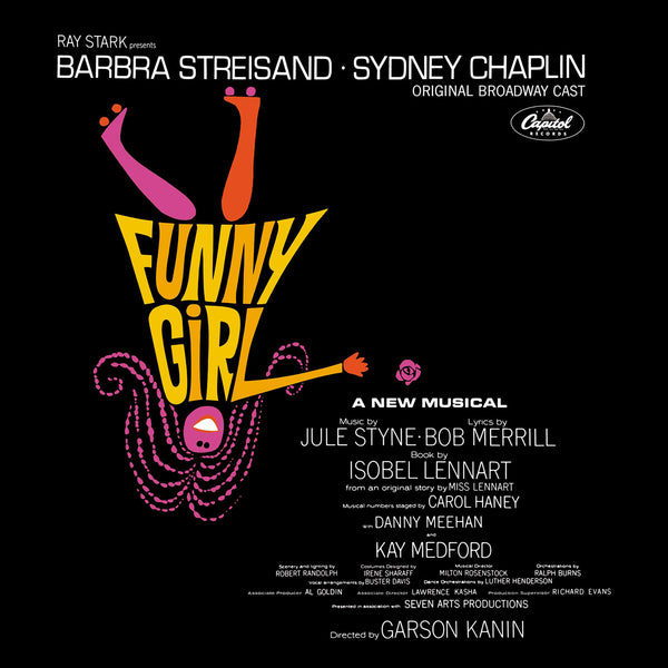 Funny Girl Soundtrack - 50th Anniversary Original Broadway Cast - CD+Vinyl Set