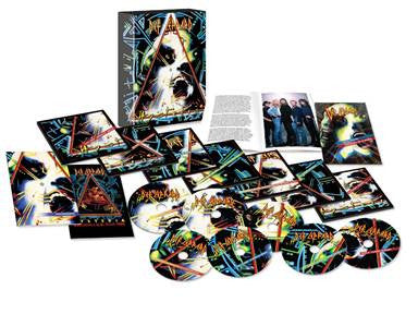 Def Leppard Hysteria - Super Deluxe Edition 30th Anniversary - CD+DVD Set