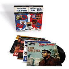 Motortown: The French EPs - Vinyl 5LP Set