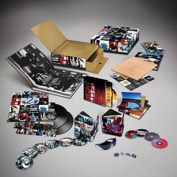 U2 - Achtung Baby - Super Deluxe Edition - CD+DVD+Vinyl Box Set