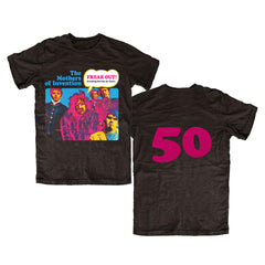 Frank Zappa Freak Out! 50th Anniversary Zappa 50th Anniversary T-Shirt