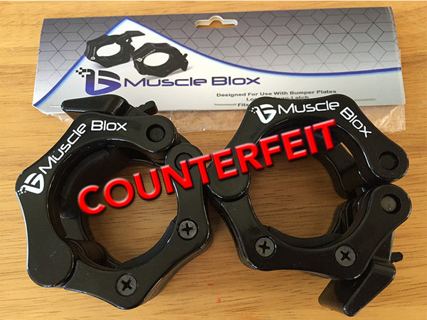 Beware of Counterfeit Barbell Collars