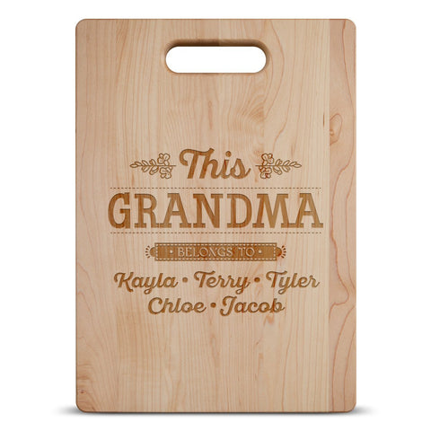 This Grandma Cutting Board
