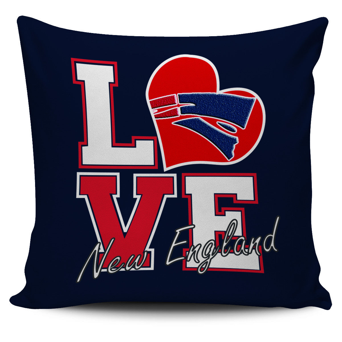 Love New England Pillowcase