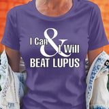 I Can & I Will Beat Lupus - Unisex T-Shirt