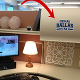 Diehard Dallas Fan Decal SPECIAL
