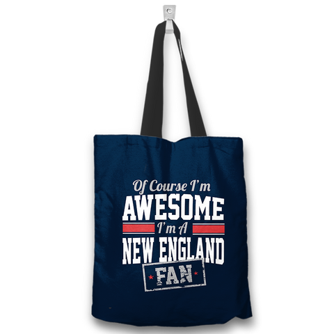 Awesome New England Fan Totebag