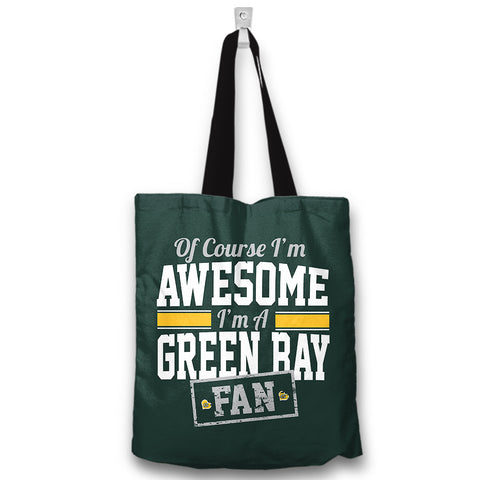 Awesome Green Bay Totebag
