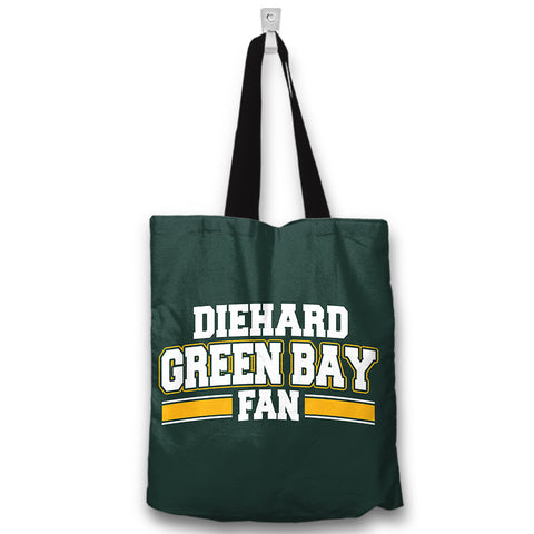 Diehard Green Bay Fan Totebag