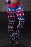 Buffalo Ugly Christmas Classic Football Leggings