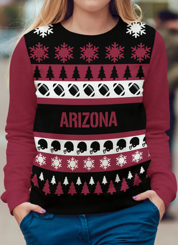 Arizona Football Ugly Christmas Sweatshirt