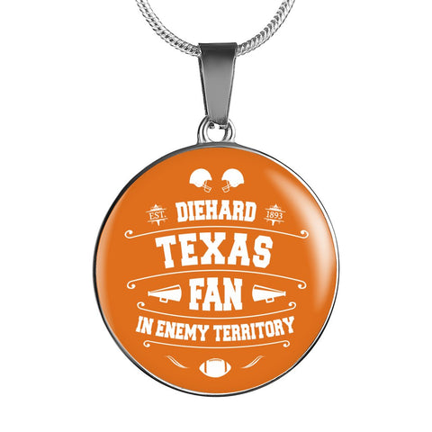 DH Texas Fan in Enemy Territory - Necklace