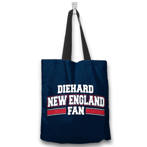 Diehard New England Fan Totebag