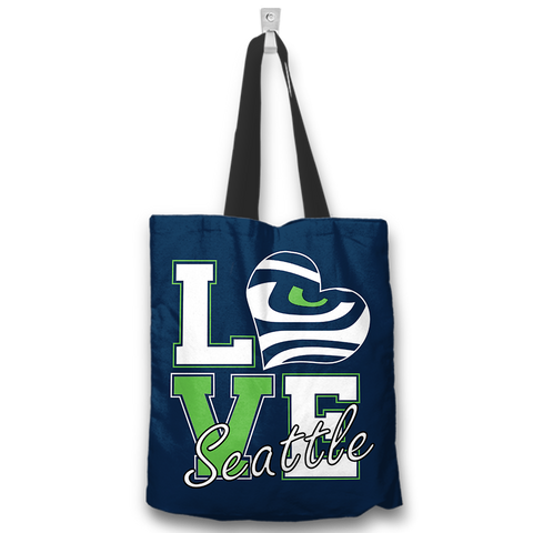 I Love Seattle Totebags
