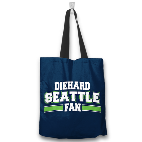 Diehard Seattle Fan Totebag
