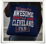 Awesome Cleveland Indians Totebag - CIBTB01