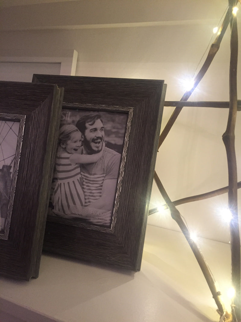 4x6 grey wood frame